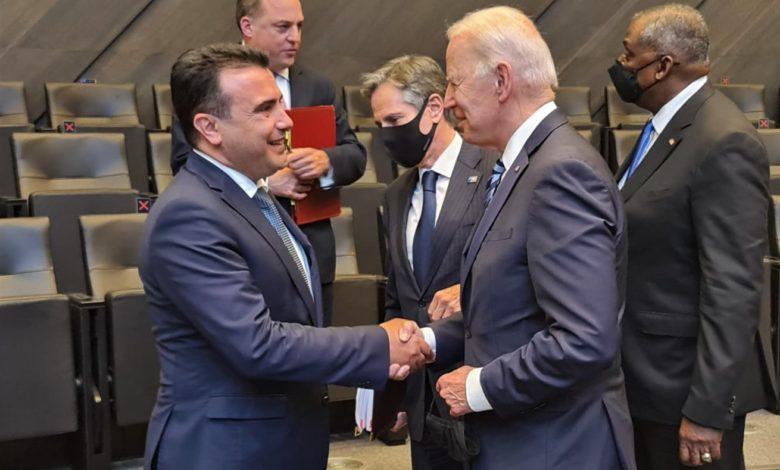 Zaev meets with Biden, invites him to visit Macedonia