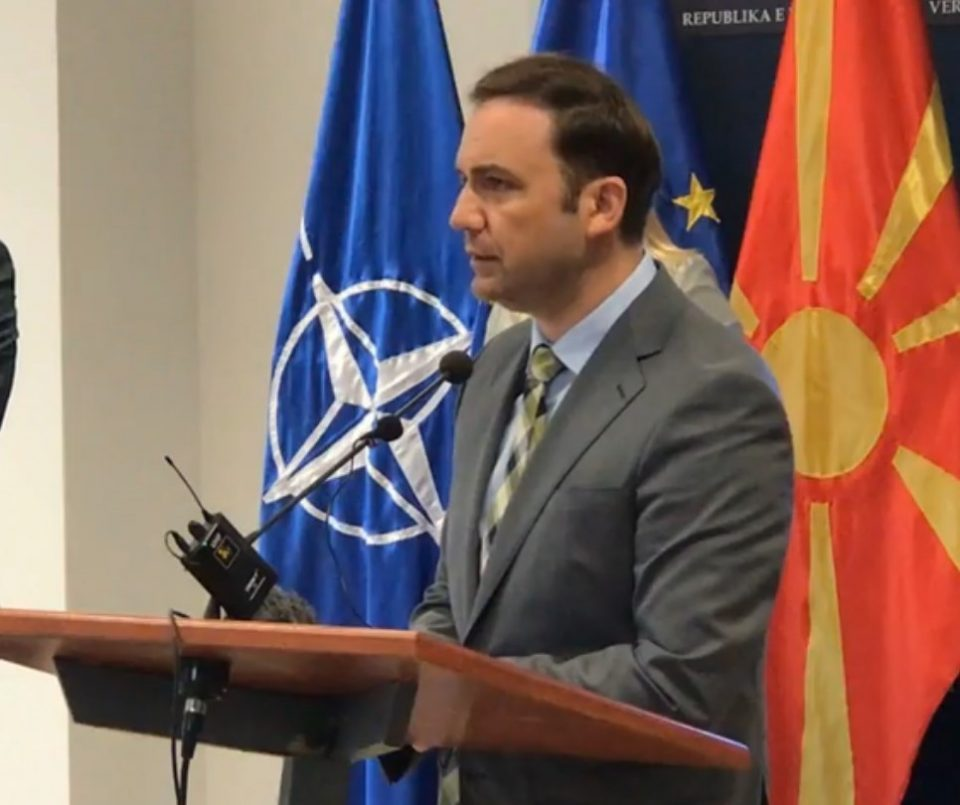 Minister Osmani condemns move by Russia to expel a Macedonian diplomat from Moscow