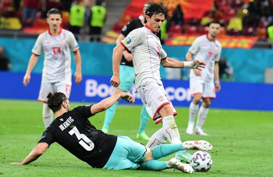 Statistics show that Austria was the better team