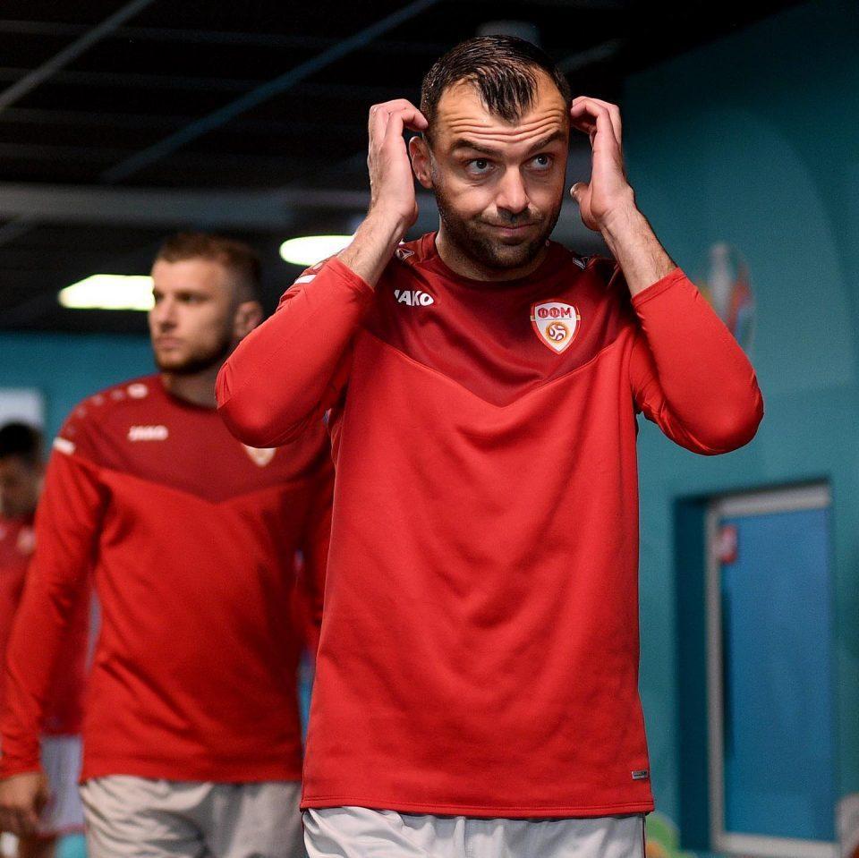 LIVE: Macedonian football team returns home