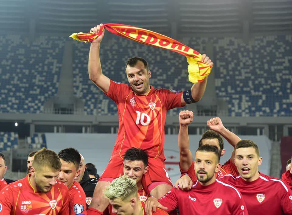 Mickoski wished Macedonia's national football team good luck at EURO 2020
