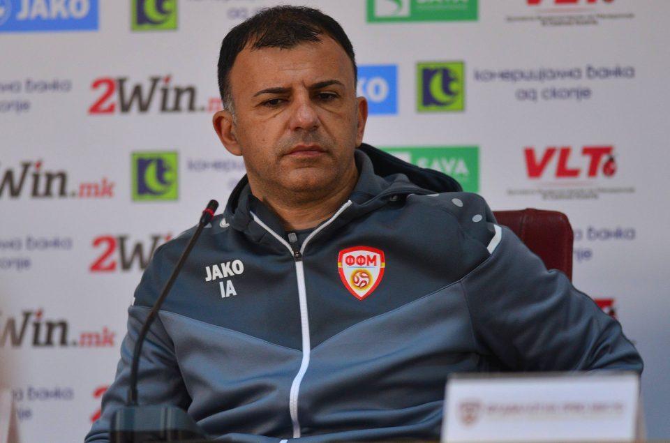 Coach Angelovski: We begin preparations for the match against Ukraine