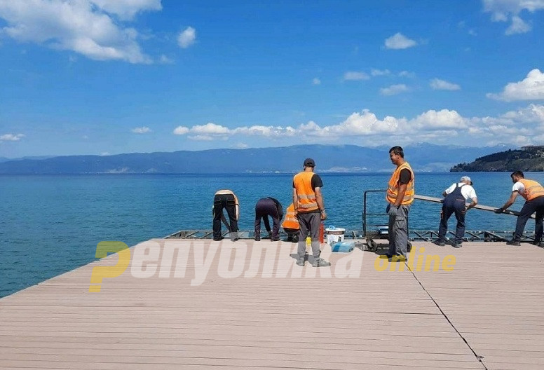 Geer: Illegal constructions at Ohrid lakeside should be removed