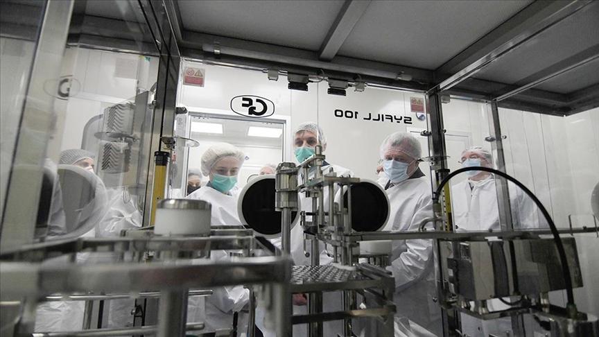 Serbia starts producing Russia's Sputnik V COVID-19 vaccine