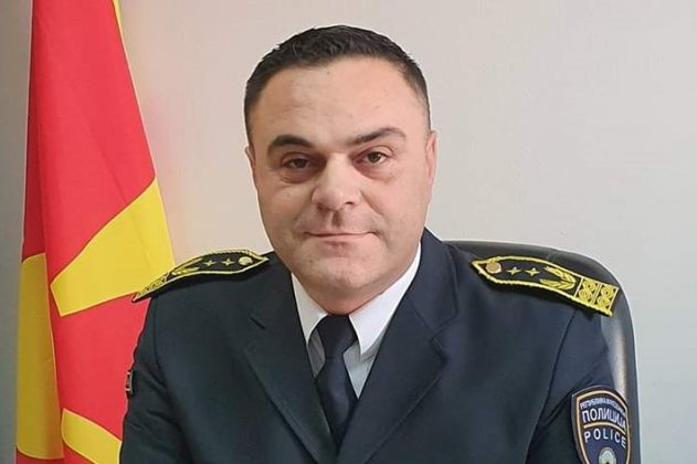 Top Interior Ministry official posted a picture of himself doing a nationalist Albanian salute