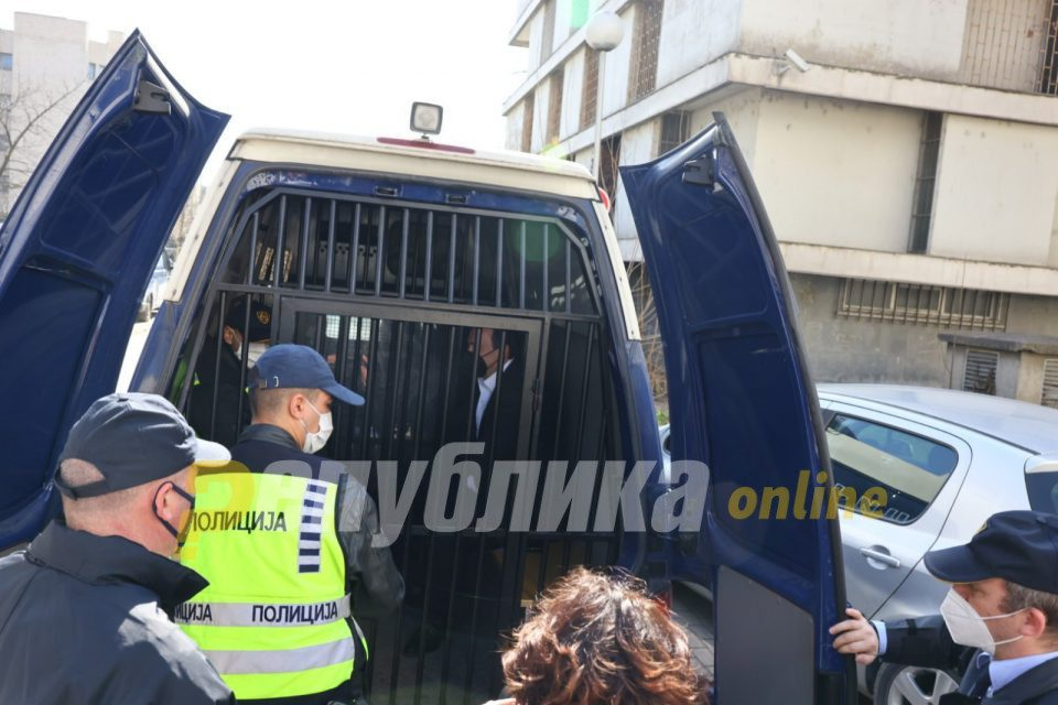 Appeals Court rejects another request from Saso Mijalkov to be released from detention