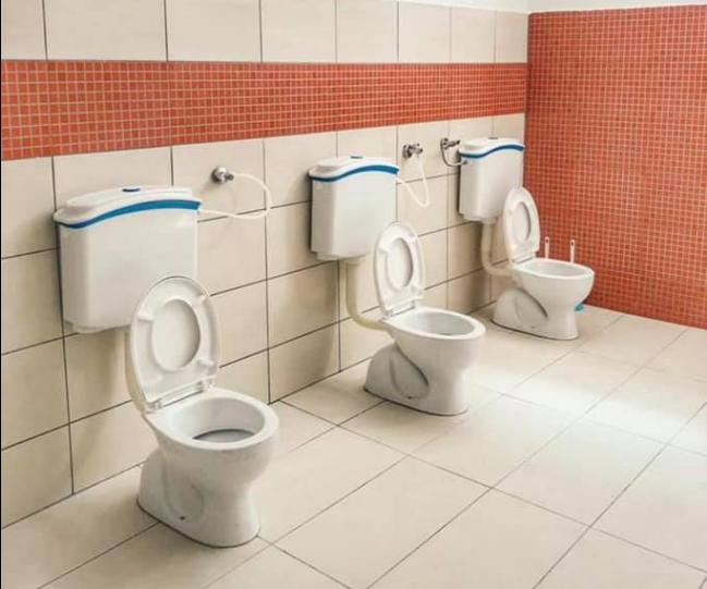 "Tetovo Mayor Teuta Arifi unveils a new invention – ""communal"" restrooms"