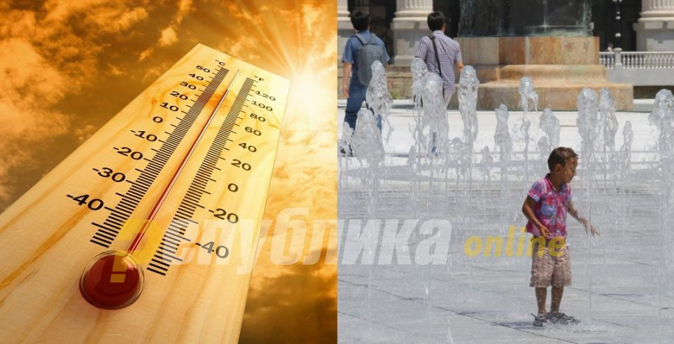 The heatwave will peak on Friday