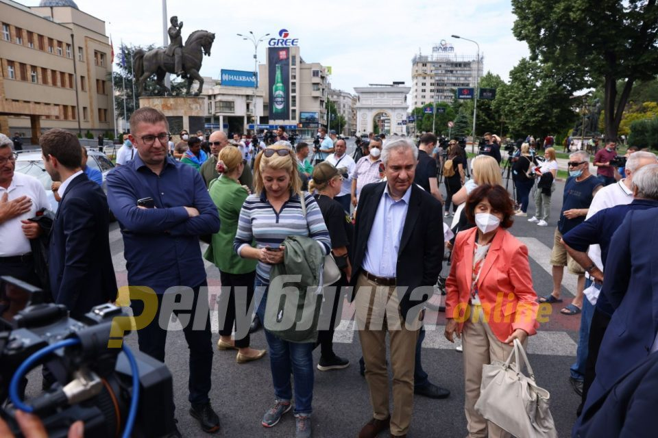 If we don't block when things go wrong in this country, Zaev will accept everything