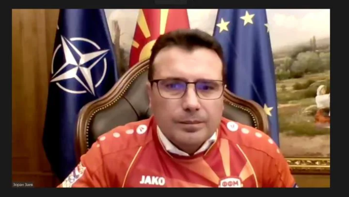 Zaev demands a photo-op with the football team ahead of the European Championship