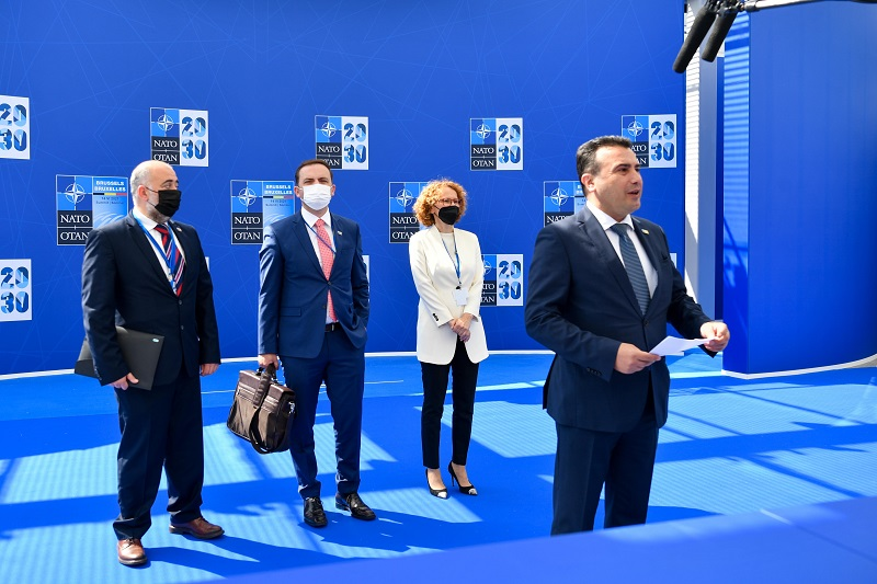 Zaev will meet with President Radev at the NATO summit in Brussels, for a new attempt to get Bulgaria to lift its veto