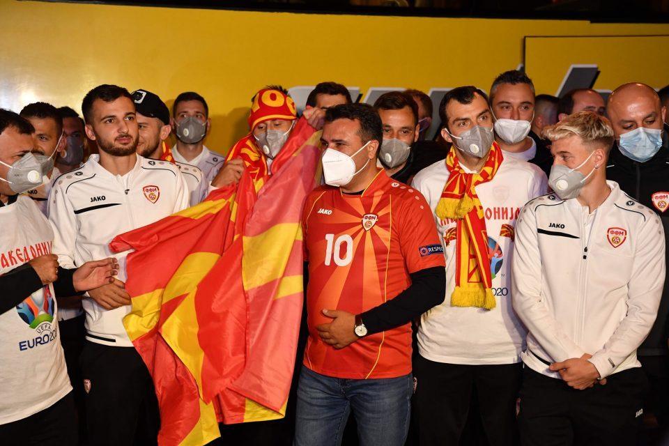 "Zaev assures Greece that the Macedonian football team represents ""North Macedonia"""