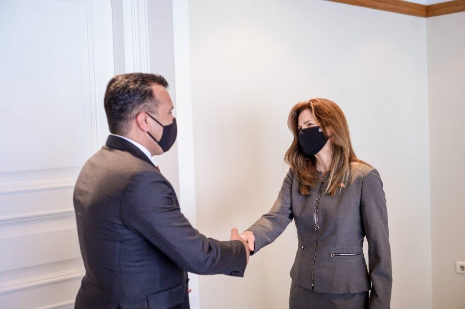 Ambassador Byrnes meets with Zaev to discuss Biden's Balkan decree