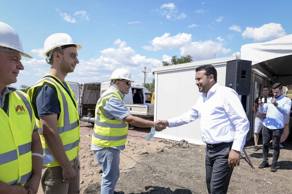 In his rush to begin infrastructure projects before the elections, Zaev announces he will flood still privately owned land