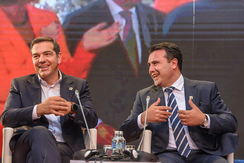 Tsipras tells Zaev to rename the Football Federation of Macedonia and to start rewriting history books