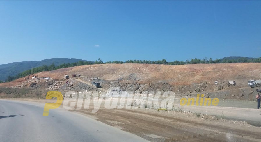 """Zaev's Government insists there is """"strong progress"""" made on the Kicevo – Ohrid highway"""