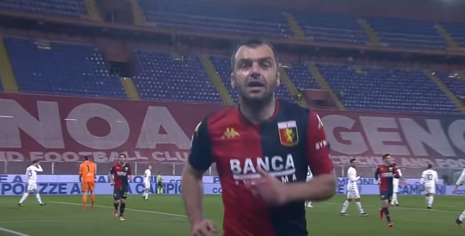 Goran Pandev expected to remain in Genoa for one more year