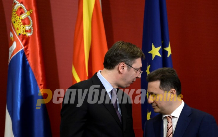 Vucic: Under Gruevski, Macedonia used to take all the foreign investments bound for the Balkans, now they all come to Serbia