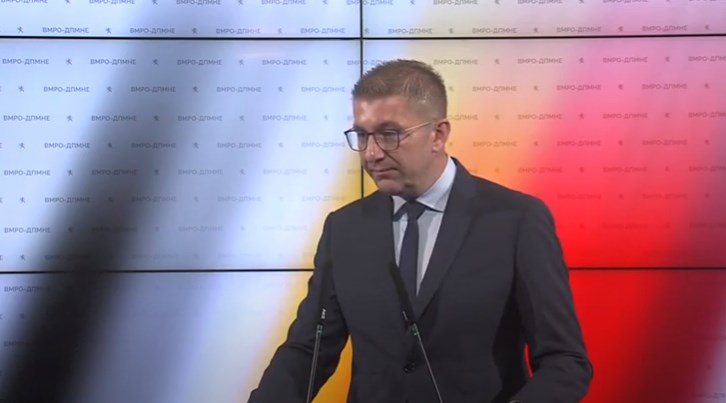 Mickoski: VMRO-DPMNE must learn from its mistakes