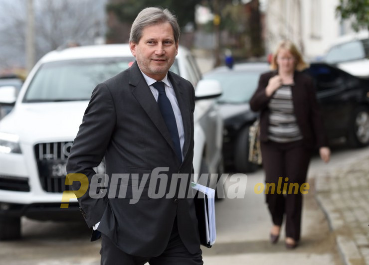 Johannes Hahn: It is in Bulgaria's interest for Macedonia to join the EU and I think Bulgaria knows that