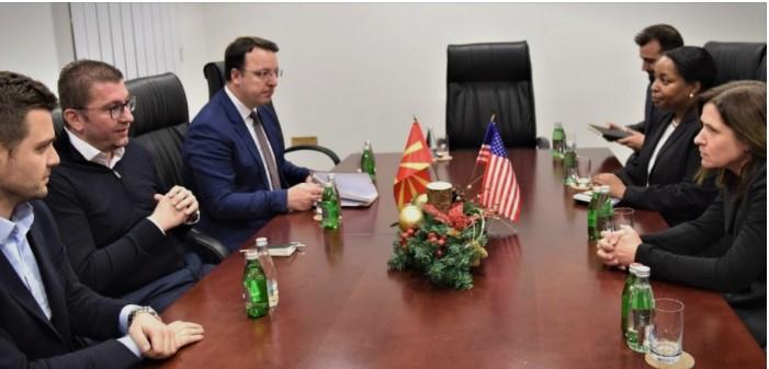 Mickoski and Ambassador Byrnes meet to discuss corruption and Biden's executive order