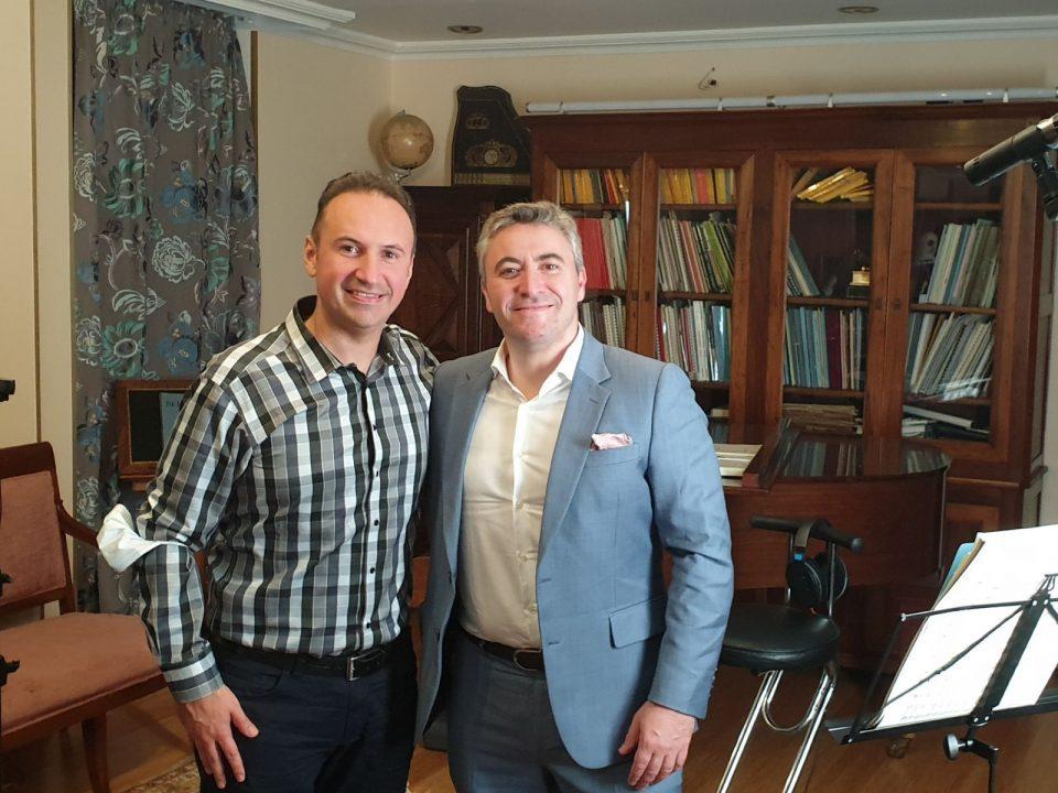 Simon Trpceski will perform with Maxim Vengerov in Brussels