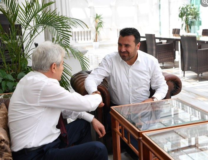 Zaev and Ahmeti announce a coalition for the local elections in October