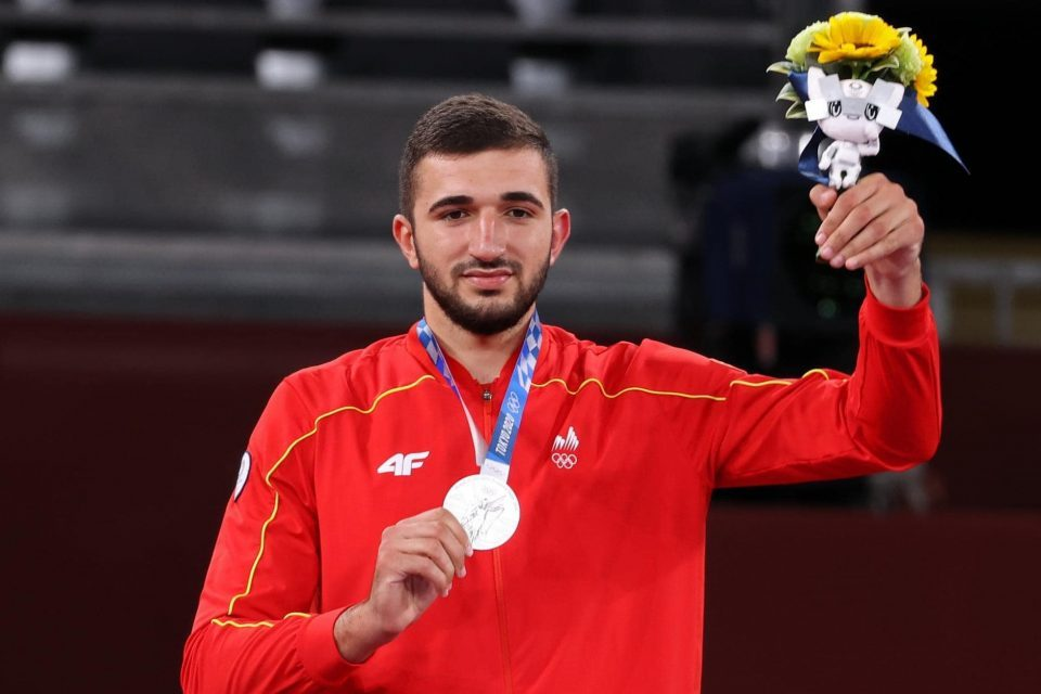 Welcoming ceremony for silver medalist Dejan Georgievski begins at 19:30 on the Macedonia Square