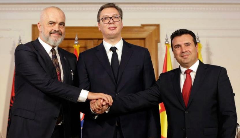 Meeting of the three Mini Schengen countries in Skopje
