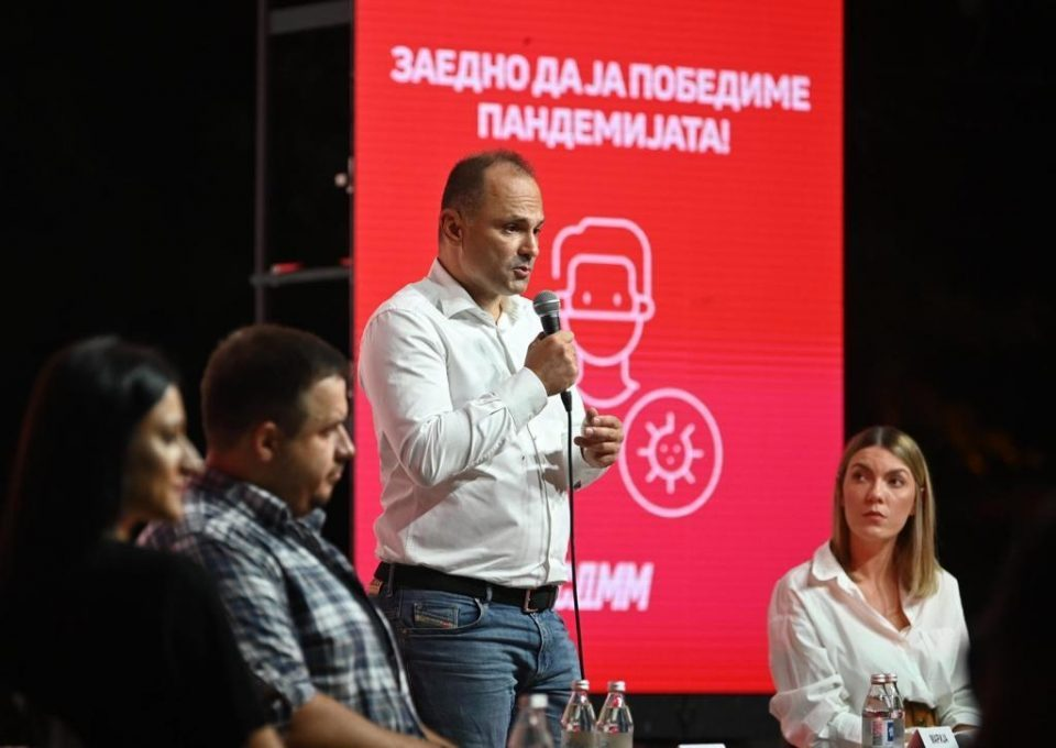 Healthcare Minister Filipce calls on the young to get vaccinated