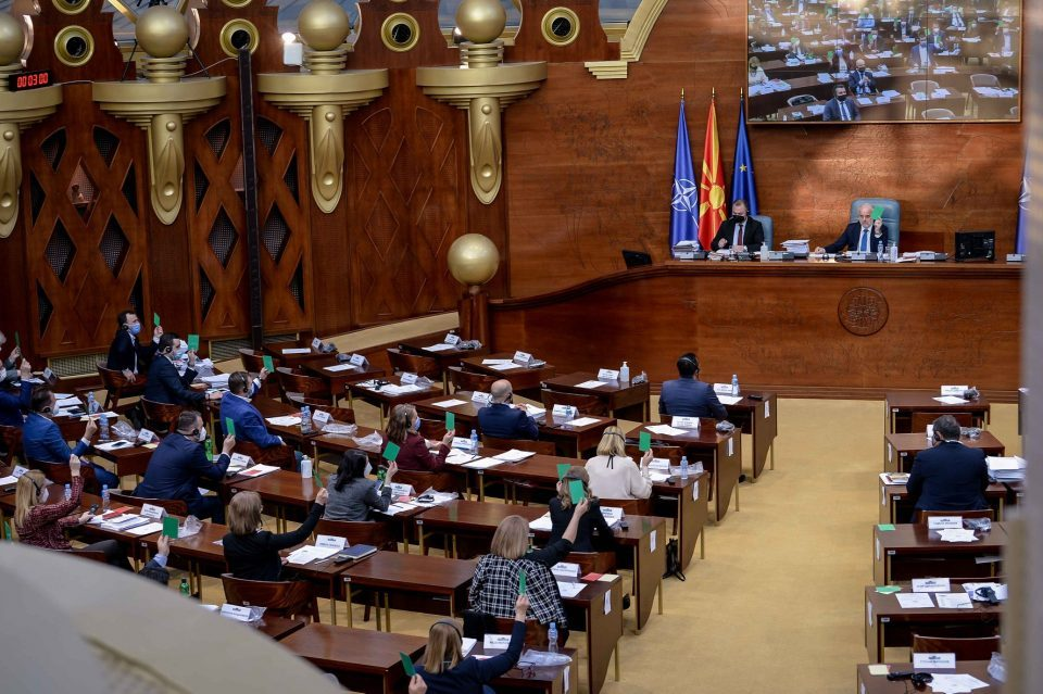 Zaev will need a two thirds majority to postpone the local elections
