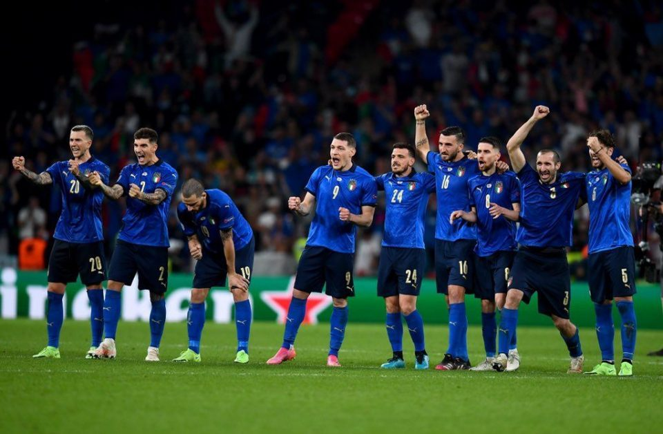 Italy wins the Euro Cup