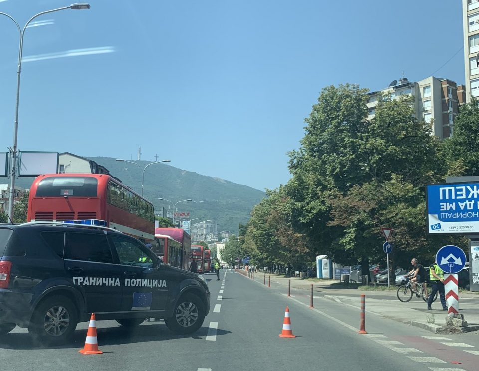 Cyclist badly injured in a traffic accident in Skopje