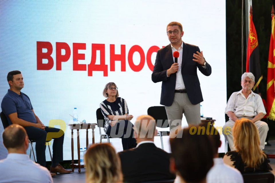 Mickoski: The first policy that VMRO-DPMNE presents to the citizens is: Cheaper electricity for households!
