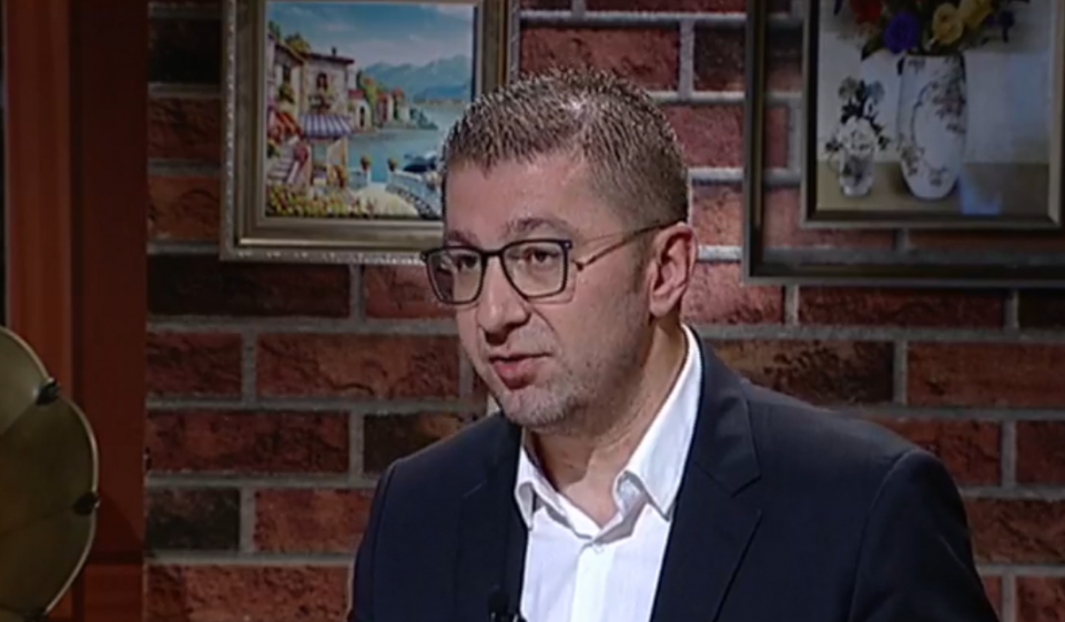 Mickoski: In Macedonia everyone can wave his flag, except us, Macedonians