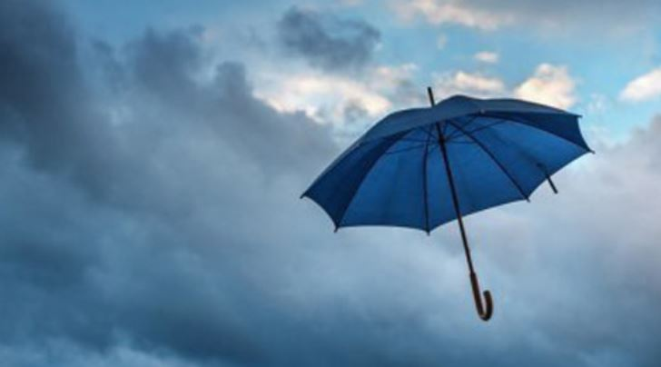 Cloudy weather with sunshine and chances of showers