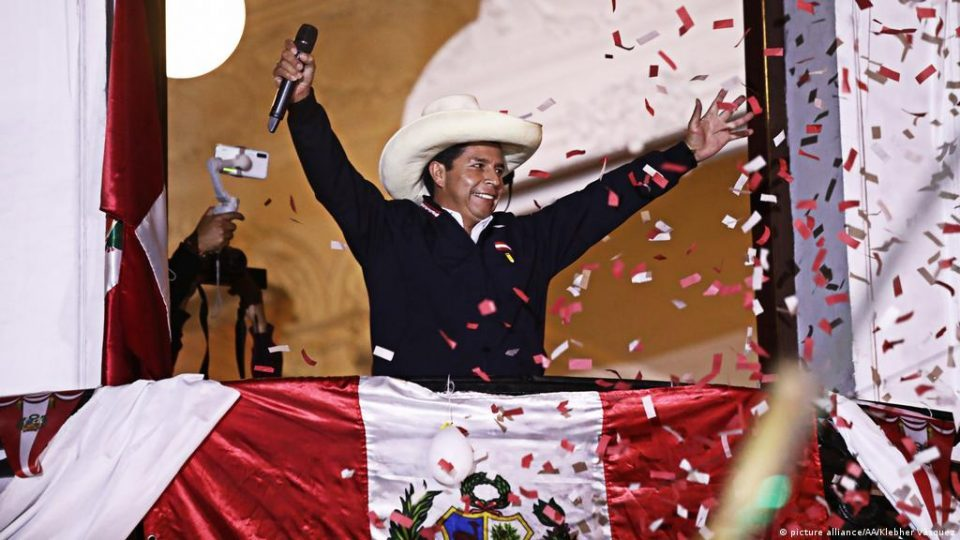 Marxist Castillo wins presidential election in Peru