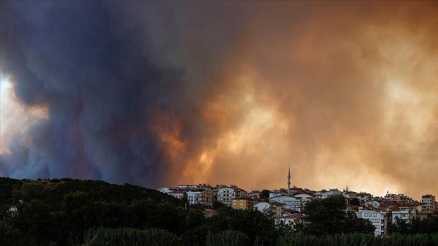 Three killed as fires rage on Turkey's Mediterranean coast