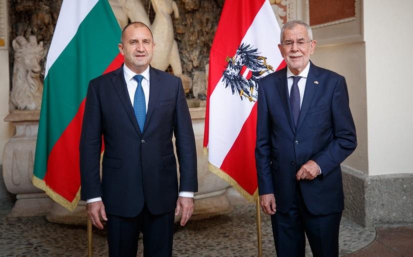 Radev in Austria: Bulgaria is strongest supporter of EU enlargement