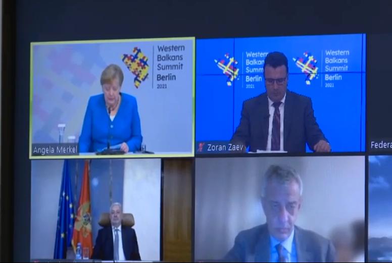 Merkel says that the Bulgarian veto against Macedonia was an unpredictable development in the Balkans