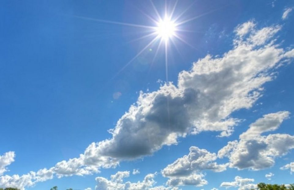 Sunny weather with occasional cloudy periods