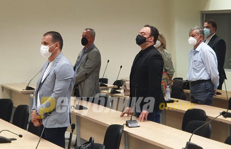 Court orders Veljanoski, Janakieski, Ristoski and Atanasovski into house arrest