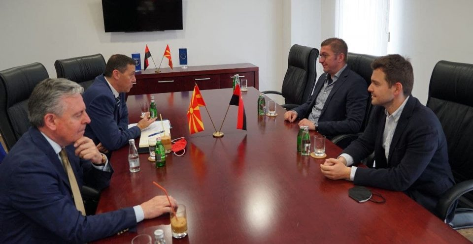 There is no fight against corruption in Macedonia, Mickoski says during meeting with Israeli Ambassador Oryan