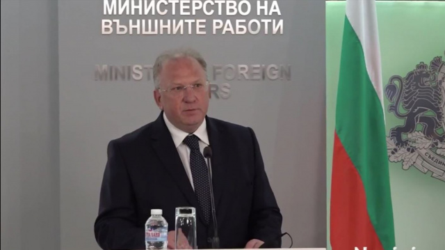 Foreign Minister Stoev wants Macedonia to acknowledge the Bulgarian minority in its Constitution
