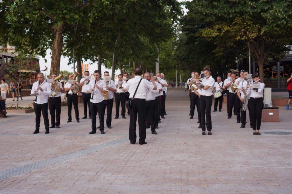 Skopje's reconstructed riverside walk officially open to public