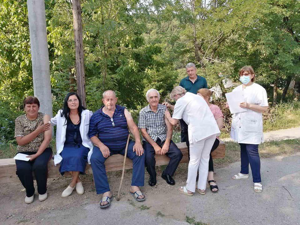 Vaccination teams begin visits to remote villages