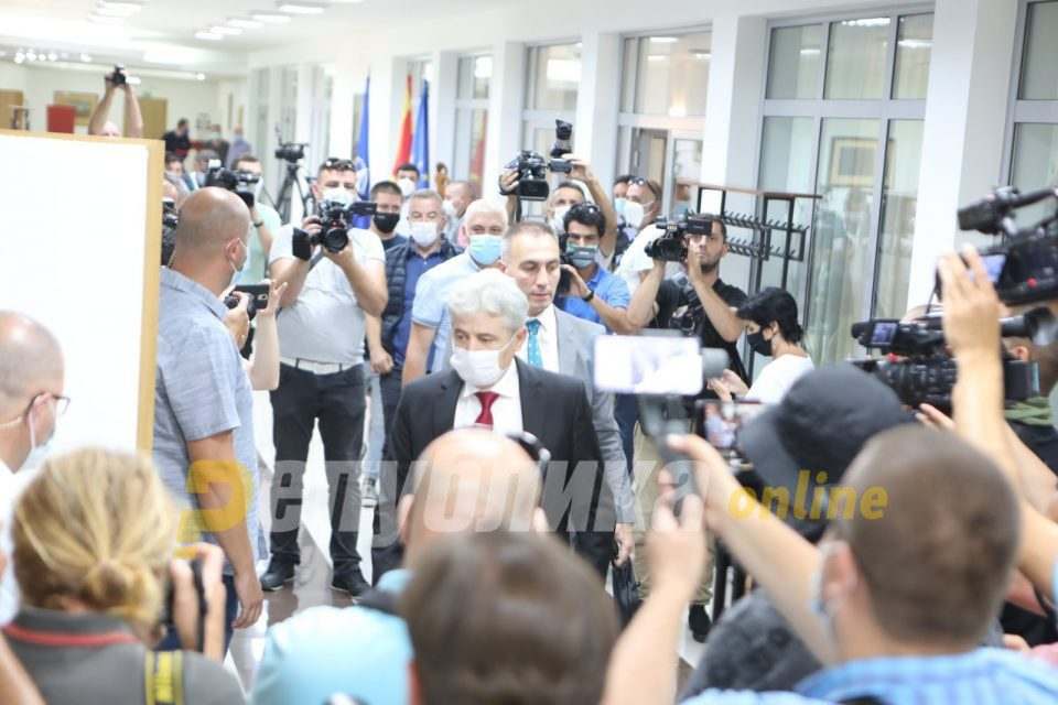 For now, DUI doesn't accept VMRO-DPMNE's resolution, AA/A haven't adopted position yet