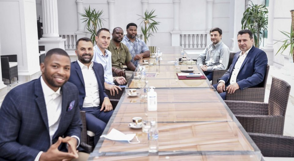 Zaev meets American investors from medical cannabis industry