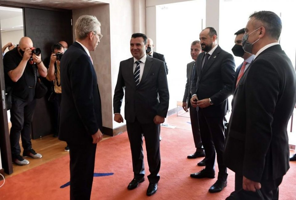 Zaev and US Ambassador to Greece Pyatt discuss energy, economic initiatives