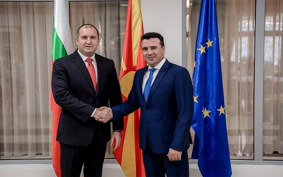 Radev tells Zaev not to expect Bulgaria's policy toward Macedonia to change after the election
